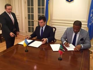 Visa Free Access to Ukraine for Citizens of St Kitts and Nevis