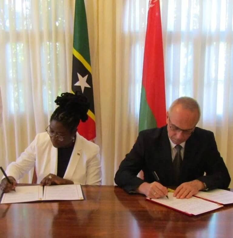 St Kitts and Nevis Signs Visa Waiver with Belarus